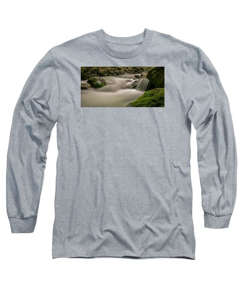 Iao Stream In The Iao Valley State Park Long Sleeve T-Shirt