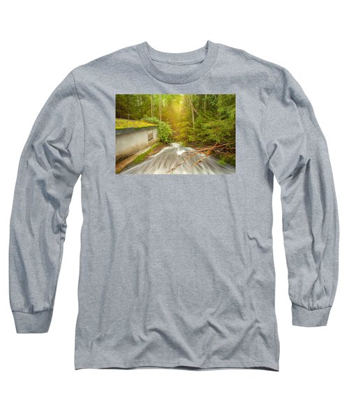 Long Sleeve T-Shirt featuring the photograph  In The Woods by Rose-Maries Pictures