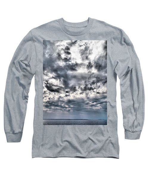 Long Sleeve T-Shirt featuring the photograph  Mental Seaview by Jouko Lehto