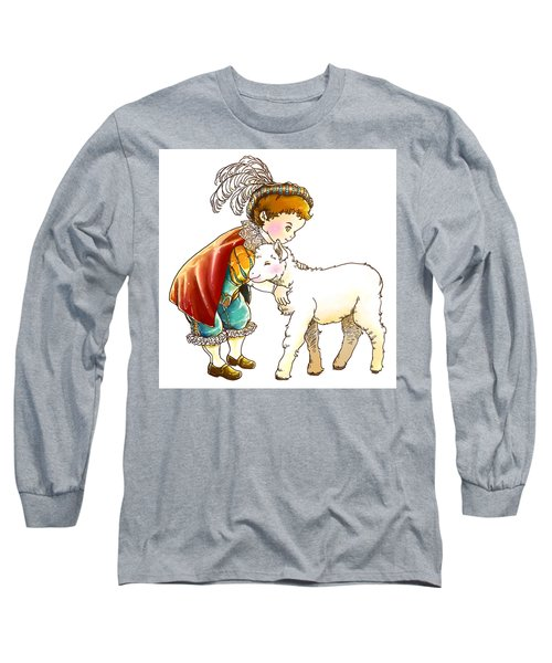 Prince Richard And His New Friend Long Sleeve T-Shirt by Reynold Jay