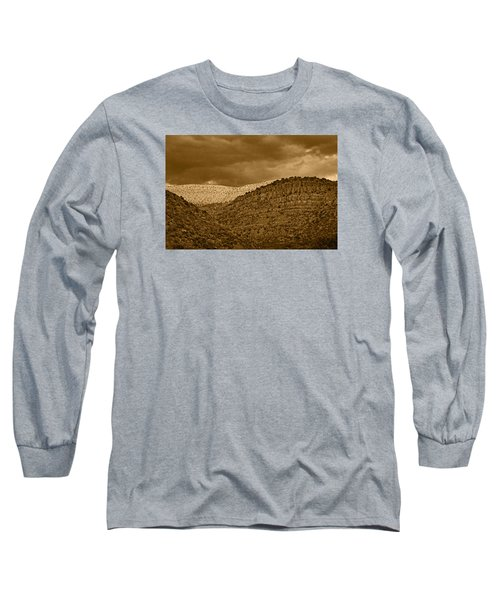 View From A Train Tnt Long Sleeve T-Shirt
