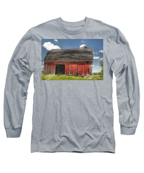 0181 Hollenbeck Road Red II Long Sleeve T-Shirt