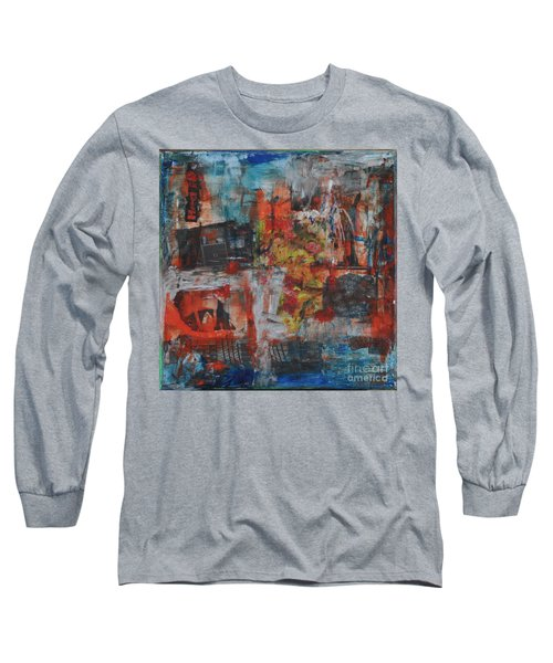 027 Abstract Thought Long Sleeve T-Shirt