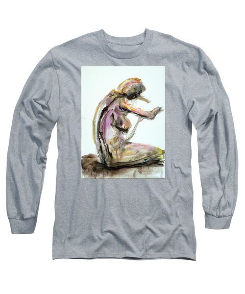 04953 Just So Long Sleeve T-Shirt by AnneKarin Glass