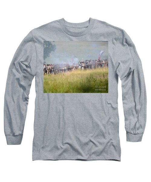 Gettysburg Confederate Infantry 7503c Long Sleeve T-Shirt