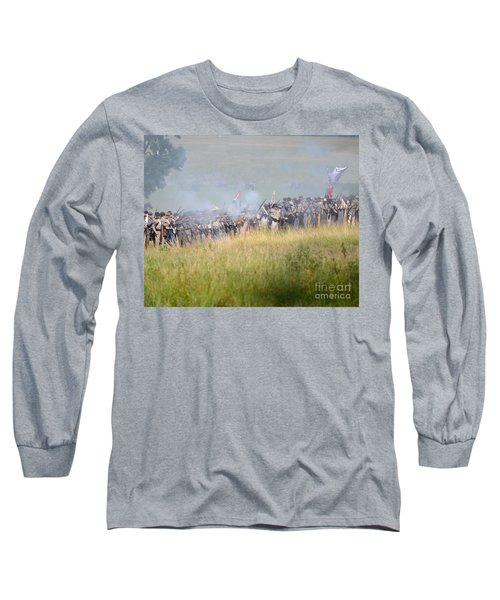 Gettysburg Confederate Infantry 7503c Long Sleeve T-Shirt