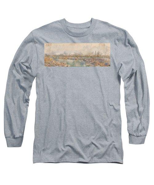 10879 Clearwater Marina Long Sleeve T-Shirt