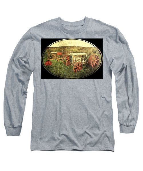 Vintage 1923 Fordson Tractors Long Sleeve T-Shirt by Mark Allen