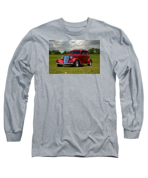 1933 Ford Vicky Hot Rod Long Sleeve T-Shirt