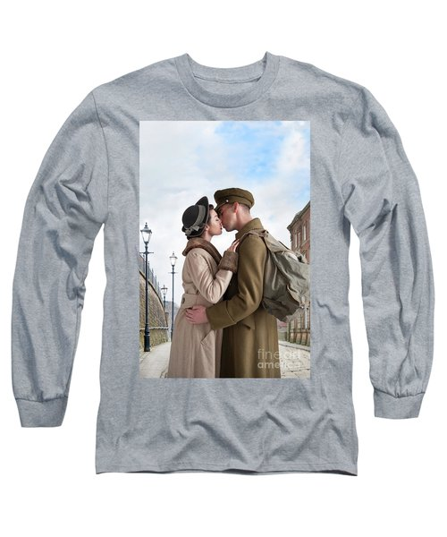 1940s Lovers Long Sleeve T-Shirt by Lee Avison