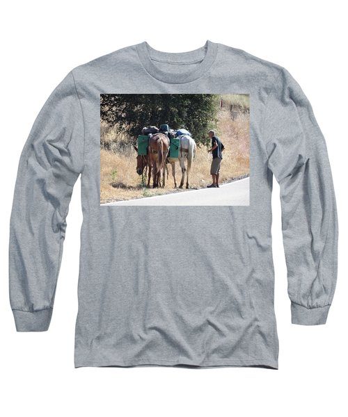 3 Mules Long Sleeve T-Shirt