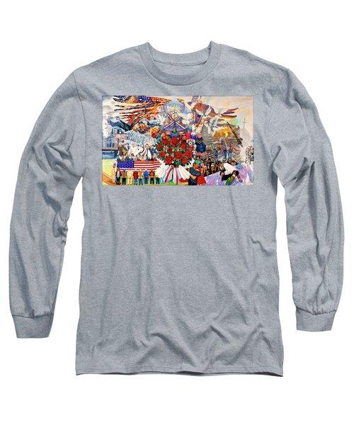 9/11 Memorial Long Sleeve T-Shirt