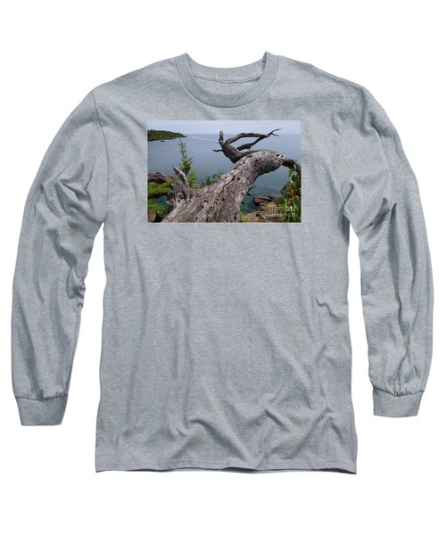 Long Sleeve T-Shirt featuring the photograph A Different Point Of View by Sandra Updyke