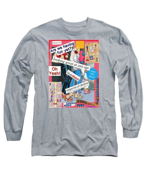 A Playful Look At Life Long Sleeve T-Shirt