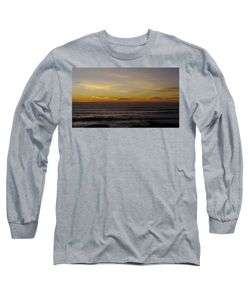 Long Sleeve T-Shirt featuring the photograph A Sunset by Alex King