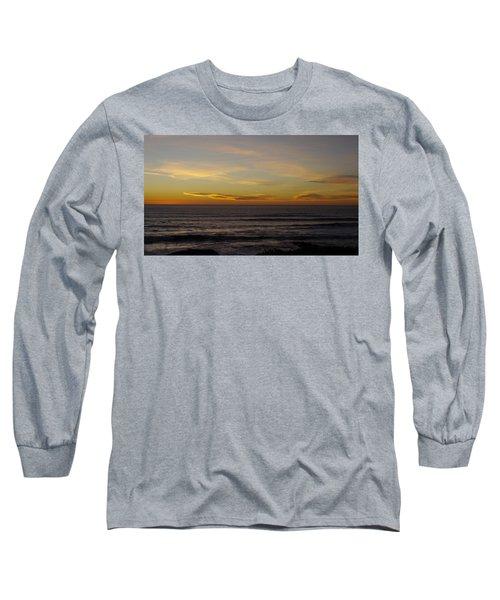 A Sunset Long Sleeve T-Shirt by Alex King