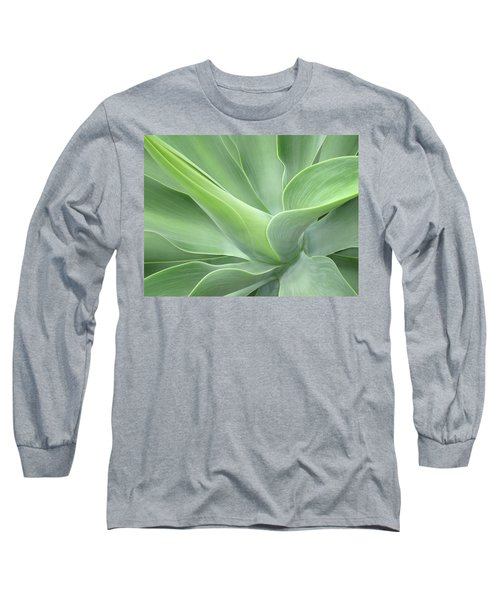 Agave Attenuata Abstract Long Sleeve T-Shirt