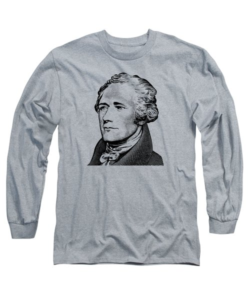 Alexander Hamilton - Founding Father Graphic  Long Sleeve T-Shirt