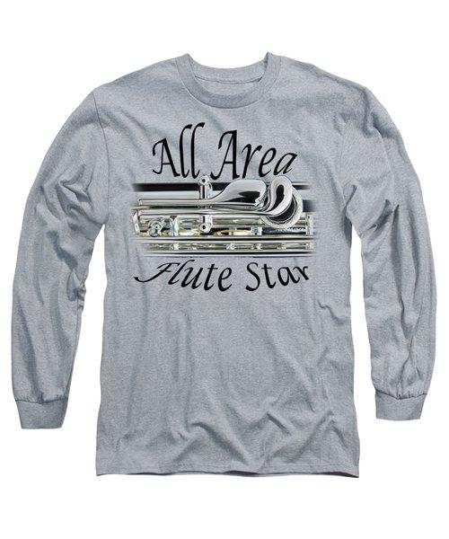 All Area Flute Star  Long Sleeve T-Shirt