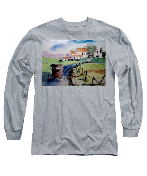 Amish Buggy Ride Long Sleeve T-Shirt