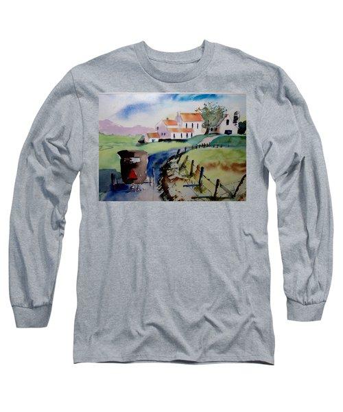 Amish Buggy Ride Long Sleeve T-Shirt