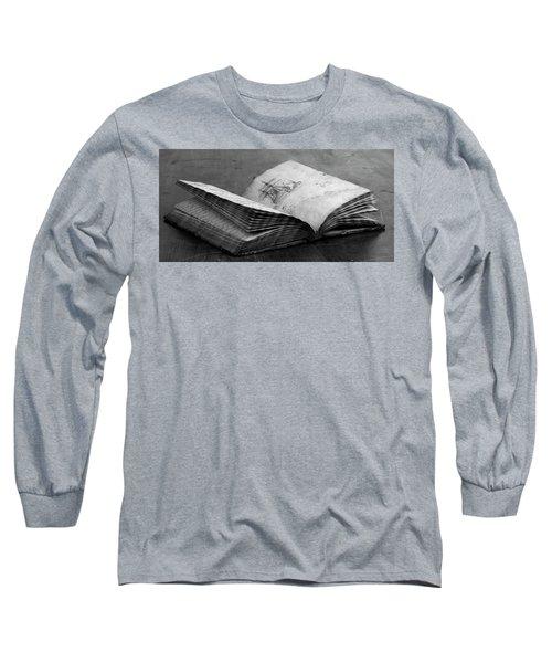Antique Notebook Long Sleeve T-Shirt