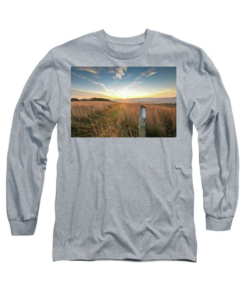 Appalachian Trail Sunrise Long Sleeve T-Shirt