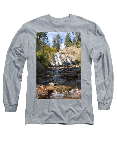Autumn At Helen Hunt Falls Colorado Long Sleeve T-Shirt