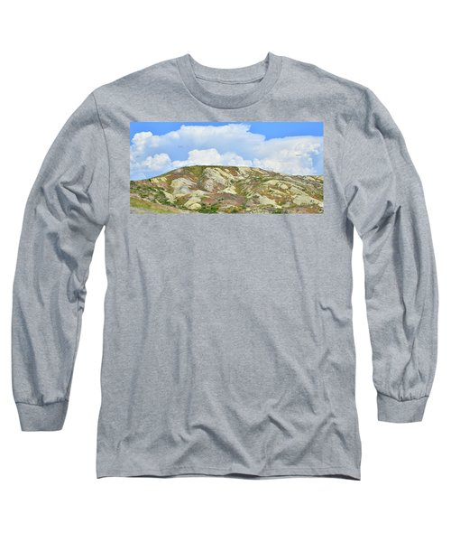 Badlands In Wyoming Long Sleeve T-Shirt