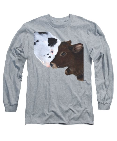 Bali And Kai With Background Removed For Colour Of Choice Long Sleeve T-Shirt