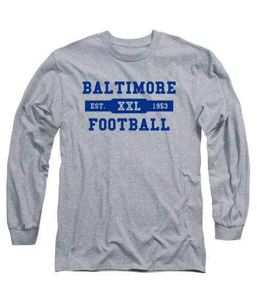 Baltimore Colts Retro Shirt Long Sleeve T-Shirt