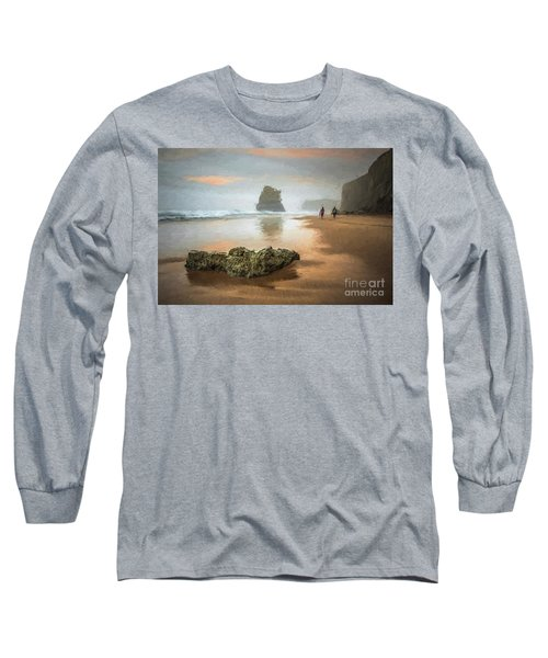 Beach Stroll Long Sleeve T-Shirt