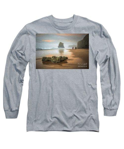 Beach Stroll Long Sleeve T-Shirt
