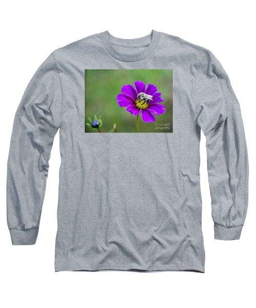 Long Sleeve T-Shirt featuring the photograph Bee by Alana Ranney