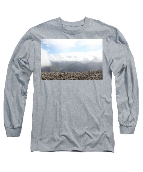 Ben Nevis  Long Sleeve T-Shirt by David Grant
