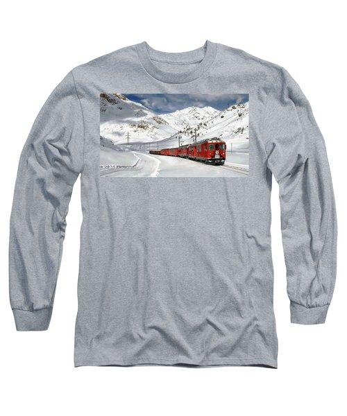 Bernina Winter Express Long Sleeve T-Shirt