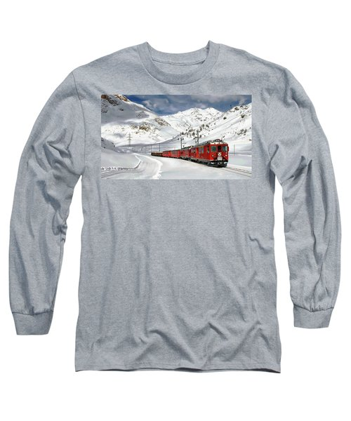 Bernina Winter Express Long Sleeve T-Shirt