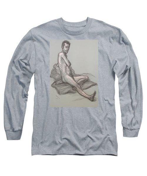 Bert Seated Long Sleeve T-Shirt