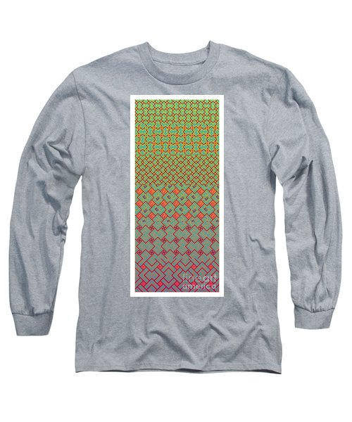 Bibi Khanum Ds Patterns No.8 Long Sleeve T-Shirt