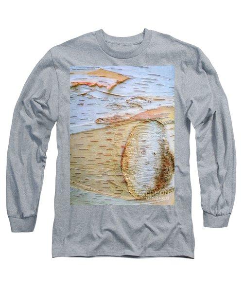 Birch Tree Bark Long Sleeve T-Shirt by Todd Breitling