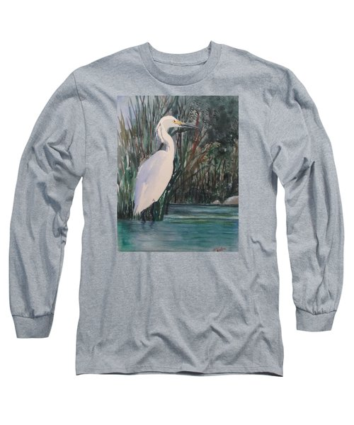 Bird Of Paradise Long Sleeve T-Shirt by Heidi Patricio-Nadon