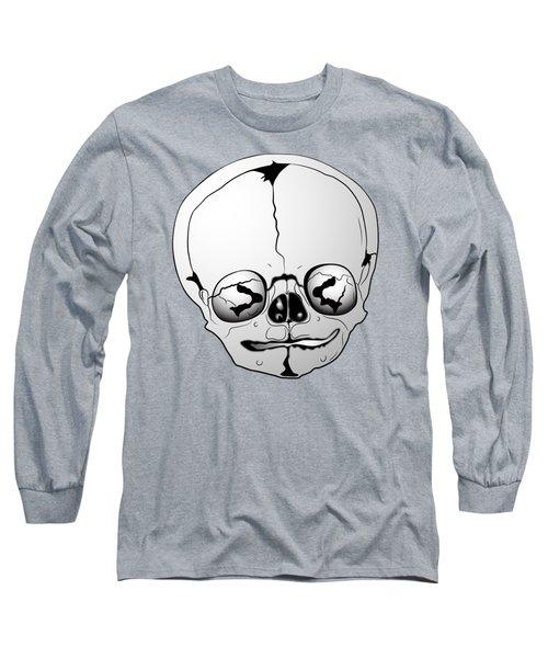 Bizarre Skull Long Sleeve T-Shirt