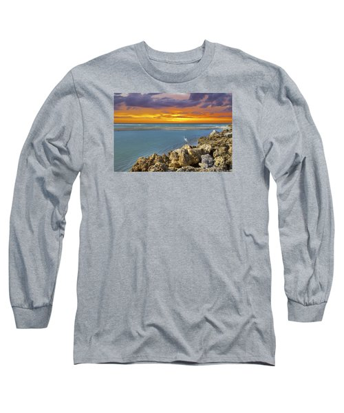 Blind Pass Sunset Long Sleeve T-Shirt by Sean Allen