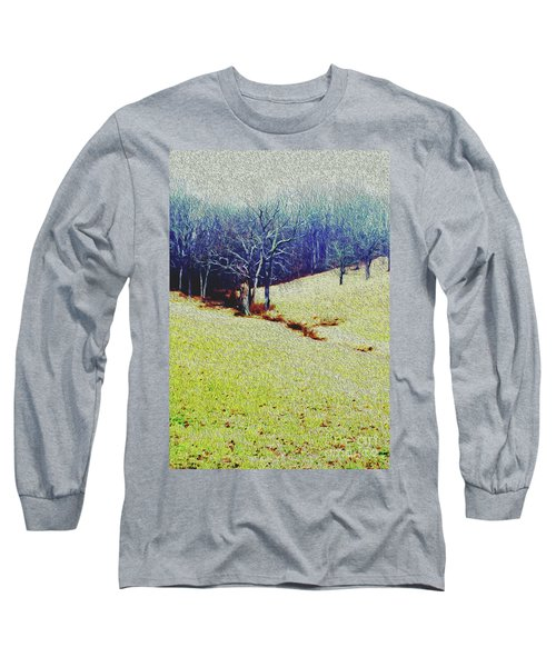 Long Sleeve T-Shirt featuring the photograph Brandywine Landscape by Sandy Moulder