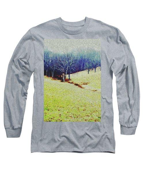 Brandywine Landscape Long Sleeve T-Shirt by Sandy Moulder