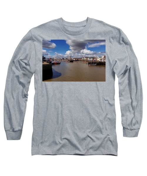 Bridlington Harbour Long Sleeve T-Shirt