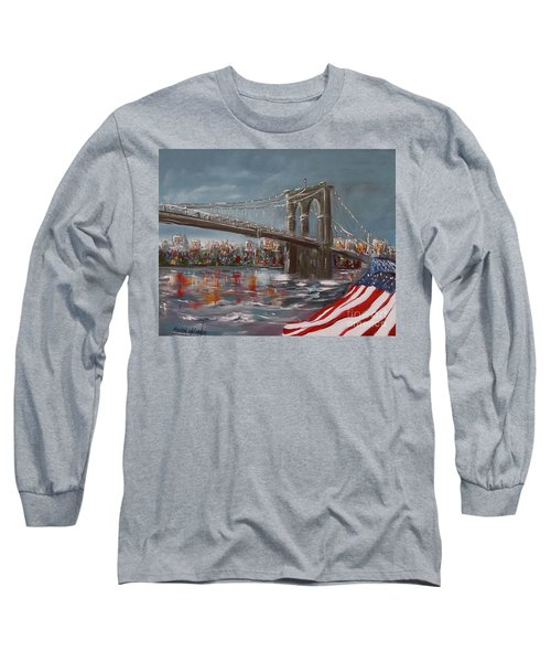 Brooklyn Bridge Long Sleeve T-Shirt