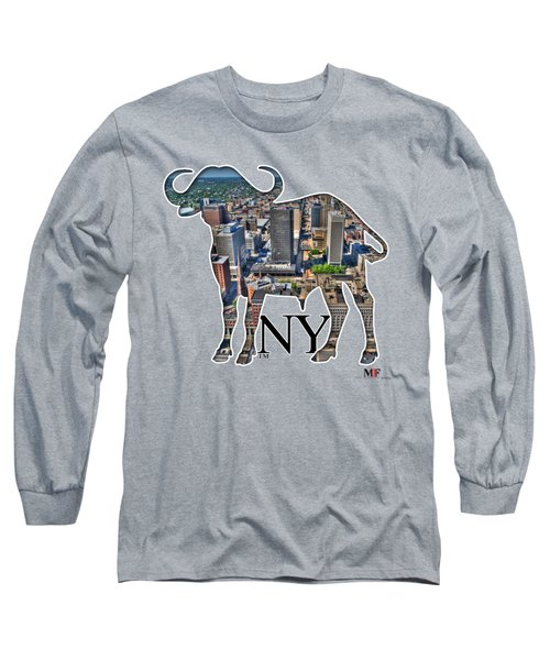 Buffalo Ny Court St Long Sleeve T-Shirt