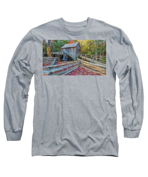 Cable Mill Long Sleeve T-Shirt by Geraldine DeBoer
