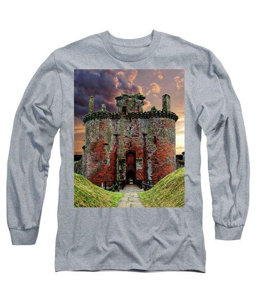 Caerlaverock Castle Long Sleeve T-Shirt